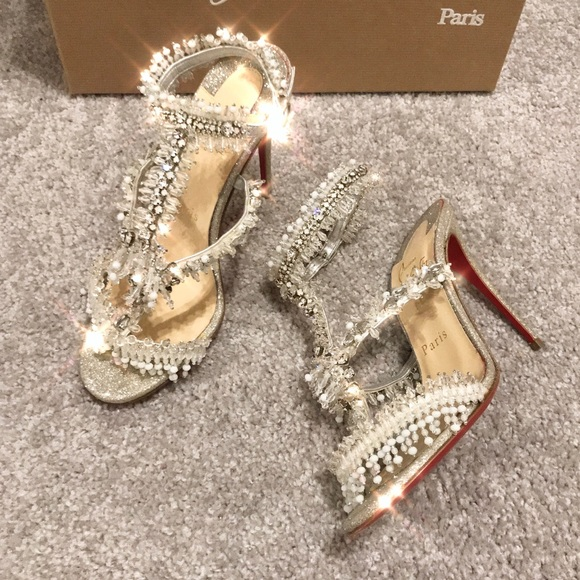 f4f6ae195c66 Christian Louboutin Shoes - Louboutin Crystal shoes